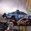 Patrick wrecks out of Daytona 500 in nine-car crash