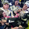 NASCAR race brawl between Keselowski, Gordon, Harvick at Texas Motor Speedway