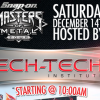 MTI Open House & Snap-on Masters of Metal Tour Live @ RadioRpm 12/14/13
